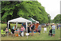SP9210 : Charity and Craft Stalls under the Lime Trees in Tring Park by Chris Reynolds