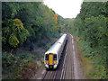 TQ7516 : Hastings Line by Coarsebarn Farm by Oast House Archive