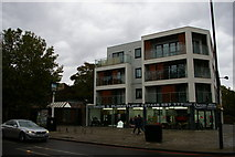TQ3476 : Flats on the site of the London & Brighton pub, Queen's Road by Christopher Hilton