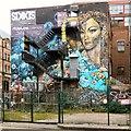 SJ8498 : Street art and skin art by Gerald England