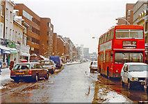 TQ2375 : Putney in depth of winter, 1991 by Ben Brooksbank
