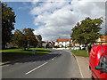 TM1763 : B1077 Ipswich Road, Debenham by Adrian Cable