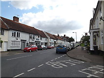TM1763 : B1077 High Street, Debenham by Adrian Cable