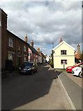 TM1763 : Chancery Lane, Debenham by Adrian Cable