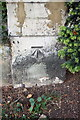 TF0207 : Benchmark on wall pier of Casterton Road near Vence Close junction by Roger Templeman
