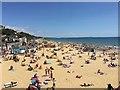 SZ0890 : Bournemouth beach by Jonathan Hutchins