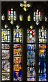 SO8318 : Gloucester Cathedral, Ivor Gurney window by Julian P Guffogg