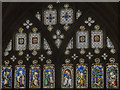 SO8318 : Window E6, Cloisters, Gloucester Cathedral by J.Hannan-Briggs