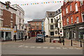 SJ0566 : Crown Square, Denbigh by Jeff Buck