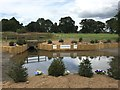 SJ2820 : Llanymynech Horse Trials: the new water complex by Jonathan Hutchins
