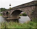 SO3700 : South side of Usk Bridge, Usk by Jaggery