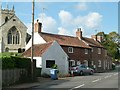 SK7079 : Cottages, All Hallows Road by Alan Murray-Rust