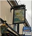 SJ9295 : Sign for Acres Inn (South face) by Gerald England