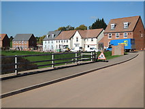 ST0107 : Cullompton: housing off Swallow Way by Martin Bodman