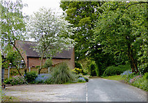 SO8891 : Cherry Lane in Himley, Staffordshire by Roger  Kidd
