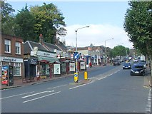 TQ5839 : Mount Pleasant Road, Tunbridge Wells by Chris Whippet