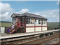 SD7891 : Signal box, Garsdale Station by Bill Harrison
