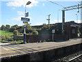 SJ8174 : Chelford station, platform 2 by Stephen Craven