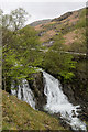 SD2998 : Coniston Waterfall by Ian Capper
