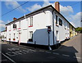 SS7702 : Corner view of The Cross pub, Copplestone by Jaggery