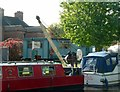 SK7080 : Crane at Town Wharf by Alan Murray-Rust