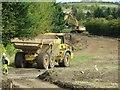 SU4886 : Dump Truck on the Site by Bill Nicholls