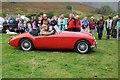 NY1808 : MGA car at Wasdale Head Show by Philip Halling