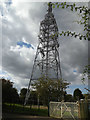 TM1164 : Electricity Pylon off Tower Lane by Adrian Cable