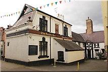 SJ0566 : The Eagles Inn, Back Row, Denbigh by Jeff Buck