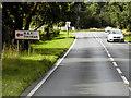TL8680 : Northbound A134 near RAF Barnham by David Dixon