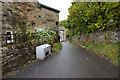 NZ0119 : Lane off the B6277, Cotherstone by Ian S