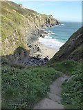SW7012 : Path to Housel Cove by David Smith