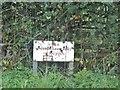 SU9296 : CEGB cable warning sign on Penn Street by David Howard