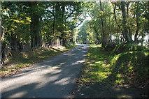 SH3233 : Ffordd i Rydyclafdy ger Wern Fawr - Road to Rhydyclafdy near Wern Fawr by Alan Fryer
