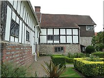 TQ4109 : Lewes - Anne of Cleves' House - Garden side by Rob Farrow