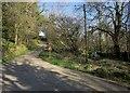 SX2181 : Lane from the ford by Derek Harper