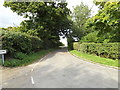 TM1160 : Lambeth Way (Clockhouse Lane), Little Stonham by Geographer