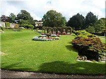 SS6140 : Ornamental garden at Arlington Court by Derek Voller