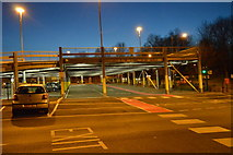SD7807 : Car park, Radcliffe Metrolink Station by N Chadwick