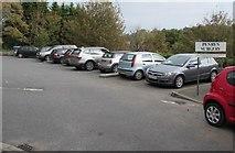 SW7834 : Penryn Surgery car park by Jaggery