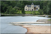 NM9080 : Glenfinnan House Hotel from the Monument by Jo Turner