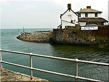 SS7249 : Rock House Hotel, Lynmouth by Brian Robert Marshall
