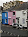 SW7834 : Colourful town centre houses, Penryn by Jaggery