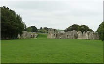 TQ4109 : Ruined Priory of St Pancras, Lewes - General view by Rob Farrow
