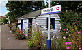 SX7898 : Flowery Yeoford railway station, Devon by Jaggery