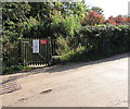 SX7898 : Entrance to Yeoford railway station, Devon by Jaggery