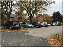 SJ9223 : St George's Hospital, Stafford: car park by Jonathan Hutchins