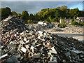 SE0820 : Demolished factory, Greetland by Humphrey Bolton
