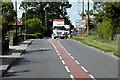 TL8570 : A134, The Street, Ingham by David Dixon