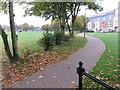TQ1195 : Path at Watford Field Recreation Ground by Richard Rogerson